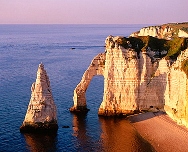 Cliff at Etretat, Normandie, France