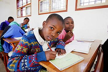 Children at school, Maputo, Mozambique