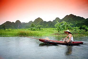 Rower, My Duc, Hanoi, Vietnam