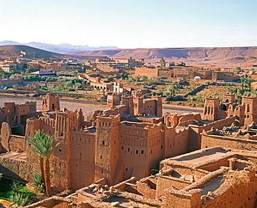 Ait Benhaddou kasbah, Ouarzazate region, Morocco