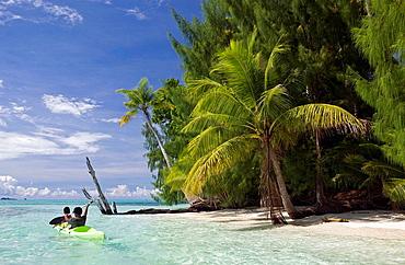 Kayaking Kids, Micronesia, Palau