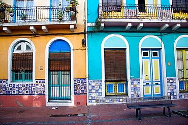 Houses in Reus neighborhood, Montevideo, Uruguay, 2008
