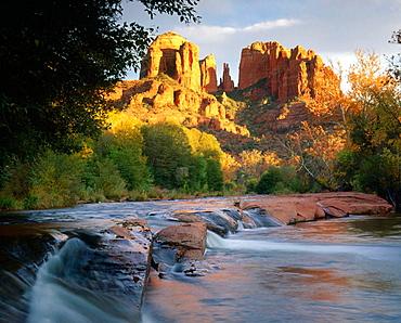 Cathedral Rock at Red Rock Crossing, Sedona, Arizona, USA