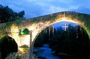 Village Bulnes at Picos de Europa, Asturias, Spain