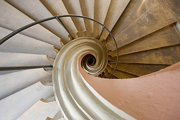 Bamberg, Bayern, Bavaria, Germany, world cultural heritage, Architecture, St, Martin, Jesuit Church, spiral staircase