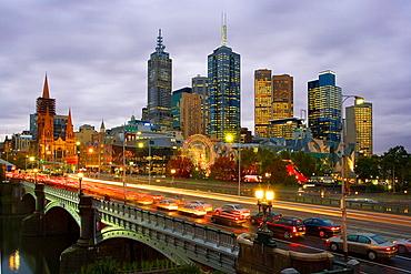 Flinders Street Station, Melbourne City, Victoria, Australia, April 2006