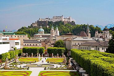 Mirabell Gardens.Saltzburg, Austria