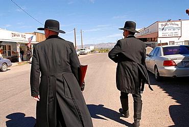 Actor Dressed as Wyatt Earp, Tombstone, Arizona, United States