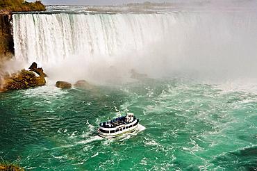 Canadian Horseshoe Falls, Niagara Falls, Ontario, Canada