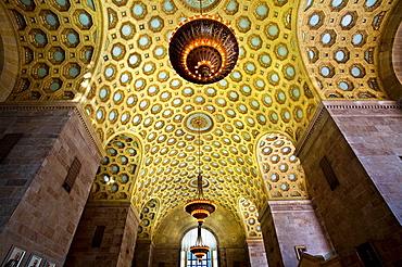 Ceiling, Commerce Court North, Toronto, Ontario, Canada