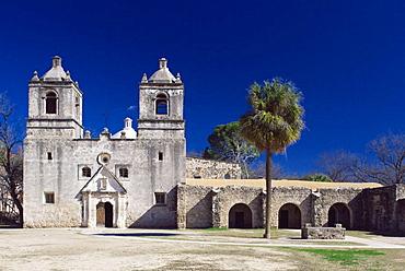 Mission Nuestra Senora de la Concepcion de Acuna, San Antonio, Texas, USA