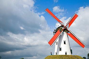 Windmill in Damme, Brugge, Belgium