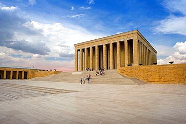 Anit Kabir (Ataturk's mausoleum), Ankara, Central Anatolia, Turkey