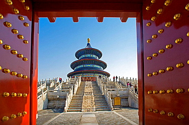 Qinian Hall (Hall of Prayer for good harvest) in Temple of Heaven, Beijing, China