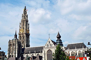 Belgium, Flanders, Antwerp, Cathedral of Our Lady, Onze-Lieve-Vrouwekathedraal