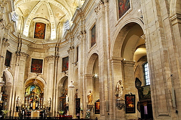 Belgium, Flanders, Ghent, St, Peter's Church, Nave