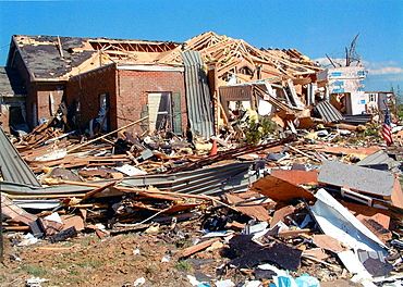 Tornado damage LaPlata, Md