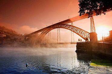 River Douro and Ribeira distric, Porto UNESCO World Heritage, Portugal