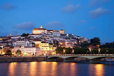Rio Mondego & Ponte de Santa Clara, Coimbra, Beira Litoral, Portugal