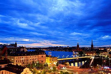 Gamla Stan vieweded from top of KatarinaHissen, Stockholm, Sweden