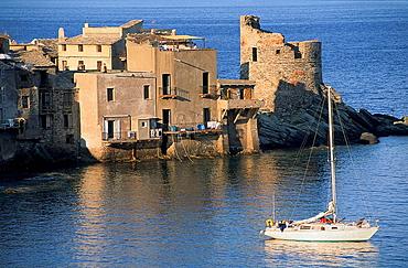 Erbalunga, Cap Corse, Haute-Corse, Corsica Island, France