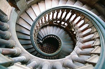 Stairs at hall of University, Mumbai, India