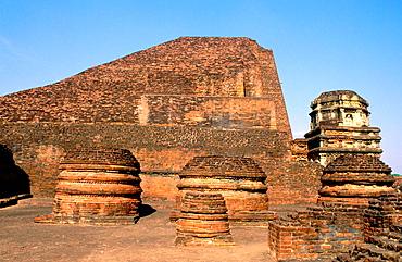 Nalanda University Archeological Complex, Nalanda, Bihar, India