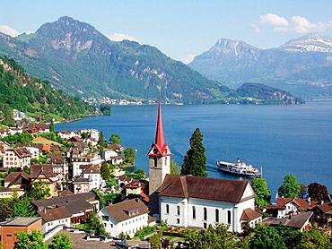 Weggis, Lake Lucerne, Switzerland