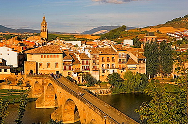 Puente de la Reina  Navarra Spain  Camino de Santiago