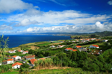 Village in the North coast of Sao Miguel island  Azores islands, Portugal