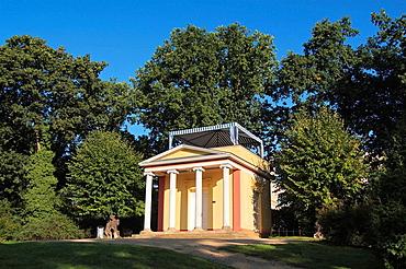 Pomona Temple on the Pfingstberg, built by Karl Friedrich Schinkel about 1800, Potsdam, Brandenburg, Germany