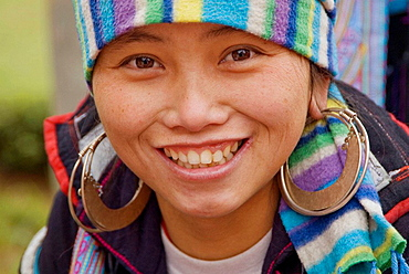 Hmong woman, Sa Pa, Vietnam
