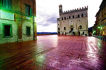 Palazzo dei Consoli, XIV century, Gubbio, Italy