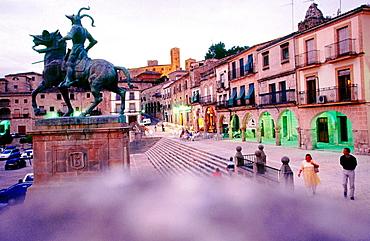 Plaza Mayor, Trujillo, Caceres, Extremadura, Spain