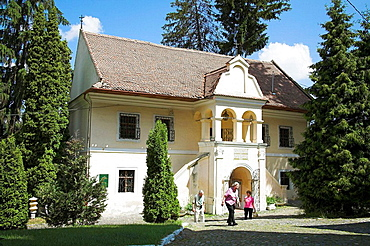 First Romanian School Museum in grounds of Saint Nicholas Cathedral, Brasov, Transylvania, Romania