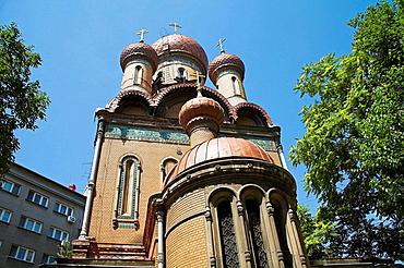 Saint Nicolas Students Church, Sfantul Nicolae Biserica Studentilor, Bucharest, Romania
