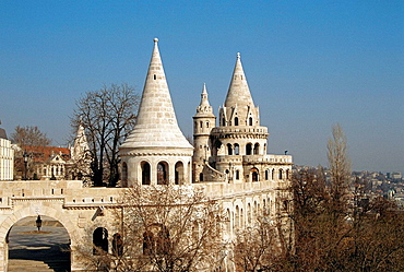 Fishermens Bastion, Trinity Square, Castle Hill District, Budapest, Hungary