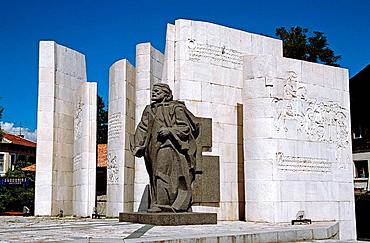 Paisii of Hilendar Monument, Bansko, Bulgaria