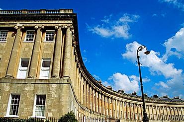 Royal Crescent, Bath, Somerset, England