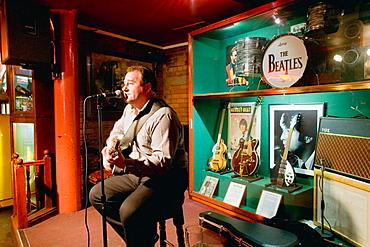 Cavern Quarter, Mathew Street, Cavern Club, concert, Liverpool, England, UK