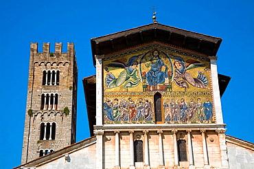 San Frediano Church, Piazza San Frediano, Lucca, Tuscany, Italy