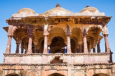 32 Pillared Chhatri in Ranthambhore Fort, Ranthambhore National Park, Rajasthan, India