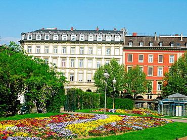 Wiesbaden buildings and gardens