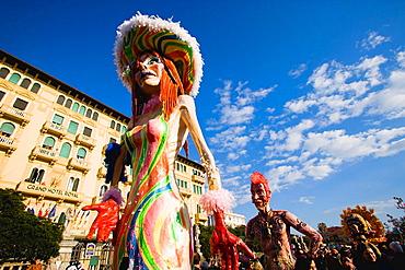 Carnival, Viareggio, Tuscany, Italy