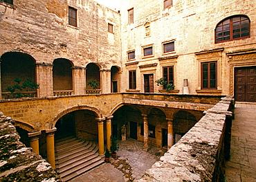 Palazzo Imperiali, Francavilla Fontana, Puglia, Italy.