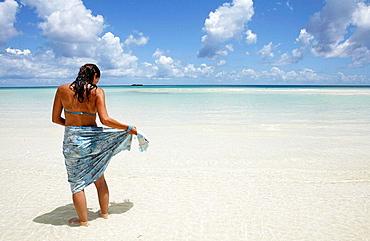 Bahamas, Gran Bahama Island Lucayan National Park Gold Rock Beach