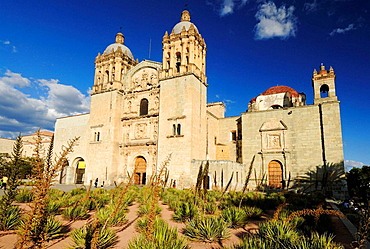 Santo Domingo church in the colonial oldtown of Oaxaca, Mexico, UNESCO World Heritage Site, Central America