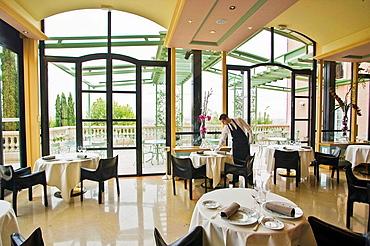 Relais & Chateau (Hotel) Villa Florentine restaurant, Lyon, Rhone-Alpes, France