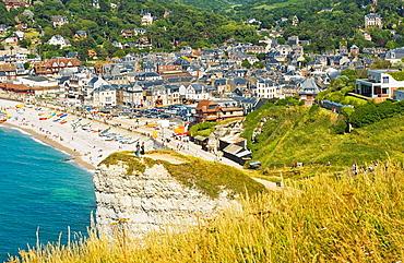Cliffs, Etretat, Seine-Maritime, Haute-Normandie, France