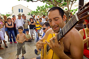 Annual gipsy pilgrimage at Saintes-Maries-de-la-Mer, Camargue, France